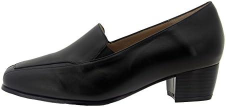 Calzado mujer confort de piel Piesanto 7112 zapato mocasín cómodo ancho