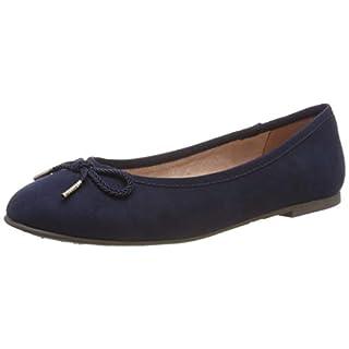Tamaris Damen 1-1-22142-22 805 Geschlossene Ballerinas Blau (Navy 805), 39 EU