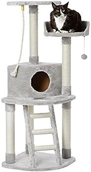 AmazonBasics Cat Tree with Platform, Grey ,X-Large
