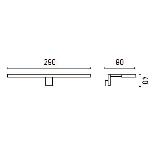 Faro-63148-TERMA-LED-Lampada-da-parete-cromo