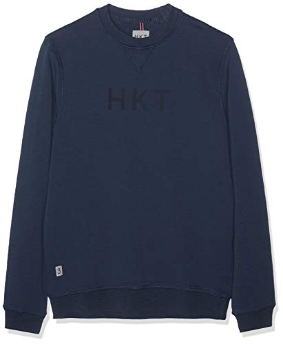 HKT by Hackett London Hkt Crew Sudadera, Azul (Navy 595), XX-Large para Hombre