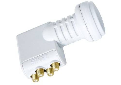 Smart Universal LNB TQS Quad-Switch 0,1 dB Titanium