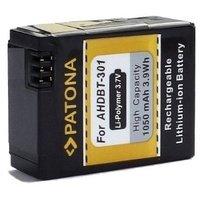 Patona Akku für GOPRO AHDBT-301 AHDBT-302 zu GoPro Hero3 Hero3+ Black White & Silver Edition / Rollei Actioncam