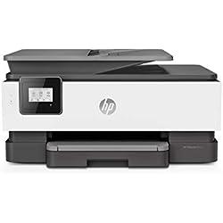 HP OfficeJet Pro 8012 Imprimante Multifonction (Jet d'encre, Couleurs, Wi-Fi, Jusqu'à 18 ppm, Recto-Verso, A4) Instant Ink - Economisez jusqu'à 70% sur le prix de l'encre