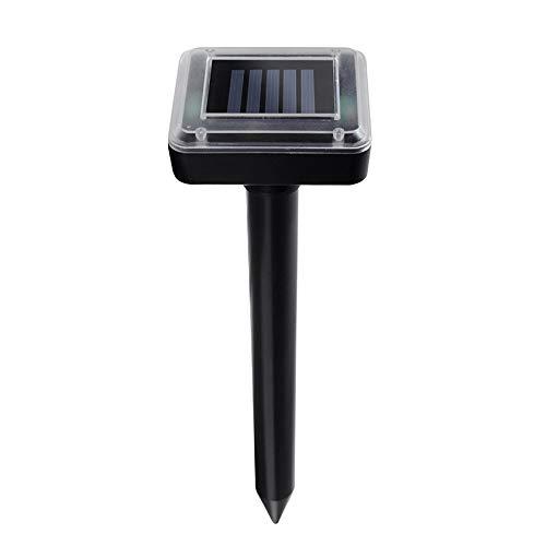 Repelente Solar 2PCS / Repelente Ultrasónico, Granja Al Aire Libre O Productos Especiales del Jardín del Repelente,Black