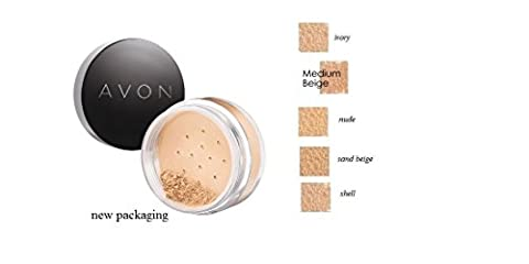 Avon Calming Effect NUDE Loose Powder Mineral Foundation
