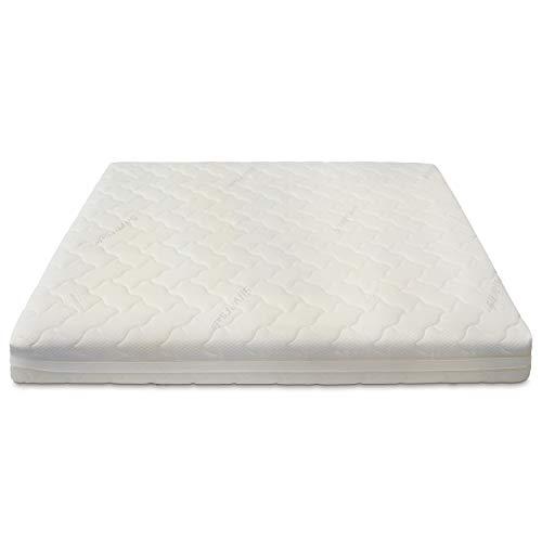 Baldiflex Materasso Matrimoniale Molle Insacchettate 700 Molle, Cuscino/i Saponetta Silver Safe, 160x190cm