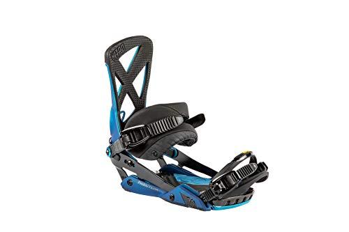 Nitro Snowboards Herren Phantom Bdg'19 Premium Freeride Freestye Highend Carving Snowboardbindung Bindungen, Blue Rover, M -