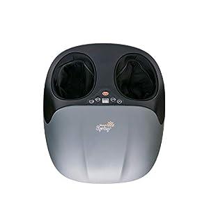 MunichSpring 3D Shiatsu, massaggiatore per piedi con funzione di calore, con 5 programmi di rilassamento e 3 livelli di intensità