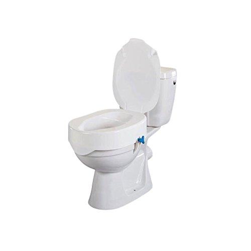 Rehotec Toilettensitzerhöhung mit Deckel 7 cm