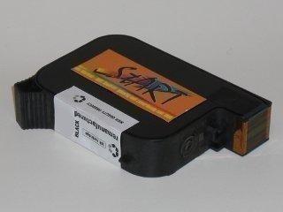 Start - 1 Ersatz Patrone zu HP Patrone Cartrige Nr. 45 - black - auch 51645 - passt in die folgenden Drucker: HP Deskjet 710c , 720c , 722c , 815c , 820c , 850c , 870c , 875cxi , 880c , 890c , 895cxi , 930c , 950c , 959c , 960c , 970c , 980c , 990-995c , 6122c , 6127c, 1100c , 1120c , 1125c , 1220c. Sofortiges Einsetzen der Tintenpatrone - kein Chipumbau - 100{894f40066c3894cbafd8192e5a22b6510845aeabc1594f39c4a10f661e6cb06d} Füllstandsanzeige - Top Tinte - Qualitäts Ersatzpatrone.