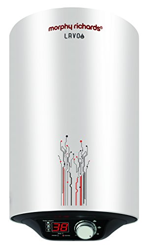 Morphy Richards Lavo EM 25-Litre Vertical Storage Water Heater (White)
