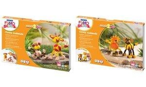 FIMO Kit de modelage kids Creat&Play Crasy Animals, niveau