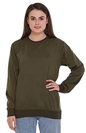 69GAL Women's Fleece Round Neck Sweatshirt