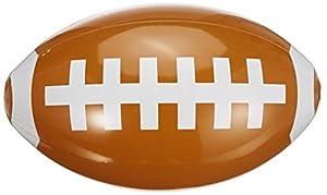 Guirca Fiestas GUI18421 - aufblasbarer Rugbyball, 40 cm