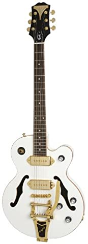 Epiphone ETBKPWGB3 Wildkat White Royale with Bigsby Tremolo Electric Guitar
