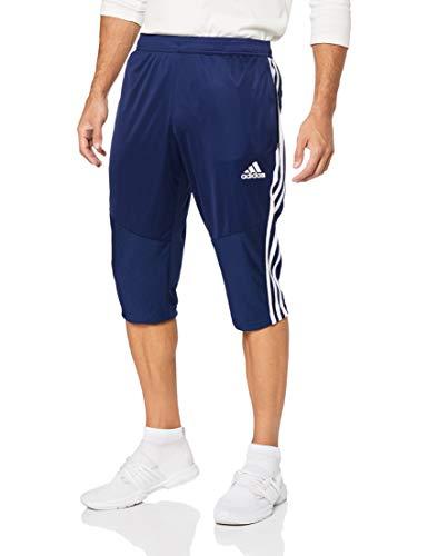 adidas Herren TIRO19 3/4 PNT Pants, Dark Blue/White, XL -