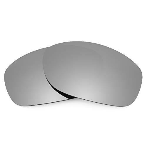Revant Ersatzlinsen für Oakley Pit Bull Titanium MirrorShield® Asian Fit