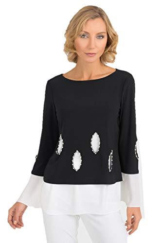 Joseph Ribkoff Black & White Tunic Style - 193274 Fall 2019
