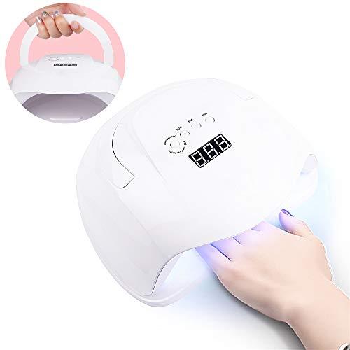 JIANG BREEZE Luz de Clavo para máquina de fototerapia led, lámpara de Clavo casera portátil para Esmalte de uñas de Gel Curado de uñas y uñas de pies con 36 Luces de led