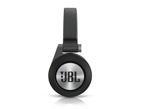 JBL E40 BT Wireless Bluetooth On-Ear Stereo-Kopfhörer (Aufladbar, Integrierter Fernbedienung/Mikrofonsteuerung, ShareMe Technologie, Kompatibel mit Apple iOS/Android Geräten) schwarz - 4