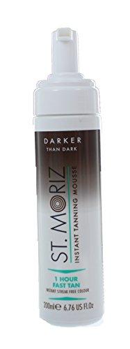 St. moriz darker than dark - autoabbronzatura rapida, colore più scuro di scuro, 200 ml