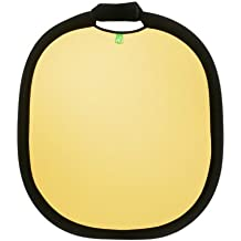 Creative Light - 100944 - Deluxe Collapsible Reflector - 60 cm - Gold / Weiß