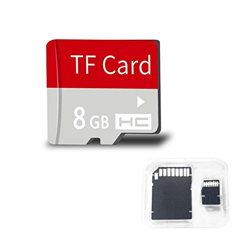 duhe189014 SD/TF-Karte 8 16 32 64 128 GB Klasse 10 U1 U3 Micro SD-Speicherkarten Speicherkarte mit Halterung für Android-Handy-Digitalkamera GPS-Computer, der Recorder fährt (8gb Sd-android-handys Micro)