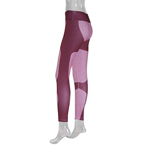 ❤️ Leggings Donna ❤️- Beautyjourney Moda Donna Skinny Stampato Pantaloni Leggings Elasticizzati, Le Donne Di Moda Allenamento Leggings Donna Sportive Pantaloni Yoga Fitness Leggings B