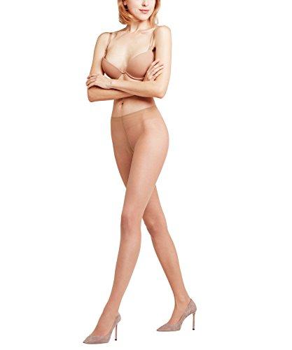 FALKE Damen ultra-transparente Feinstrumpfhose Fond de poudre 10 Denier makellos schöne Beine -