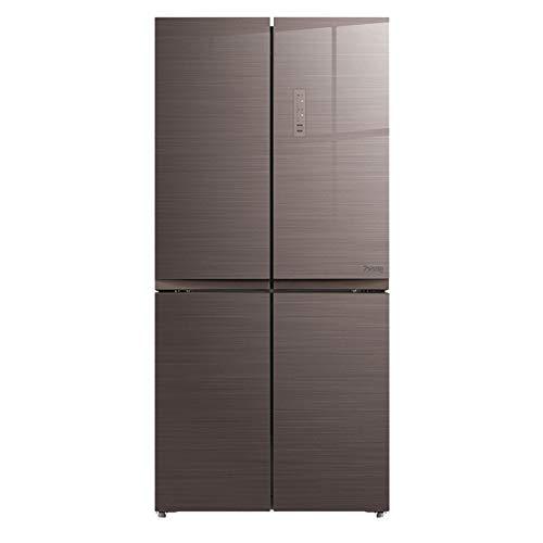 STAR BABY 50/50 geteilt viertürigen frostfrei Kühlschrank mit Gefrierfach 442 L braun [Energie Klasse A ++]