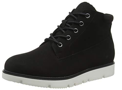 Bianco Damen BFASTA Warm Wedge Boot Stiefeletten, Schwarz (Black 100), 38 EU