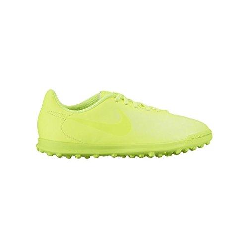 Nike 844416-777, Chaussures de Football en Salle Garçon citronier