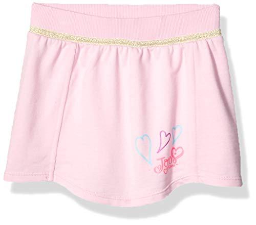 Jojo Siwa By Danskin Mädchen Big Flutter Skirt Skort, Gold Glitzer/Puder Pink-65004, Mittel -