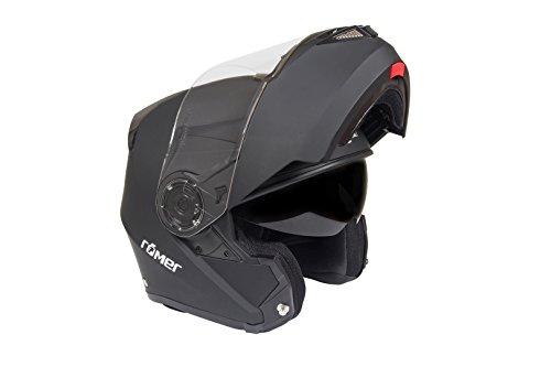 Römer Helmets Motorradhelm Augsburg, Matt Schwarz, Größe M