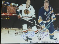 Signed Hull, Brett / Bobby 11x14 Photo Limited Edition (Each numbered individually) autographed