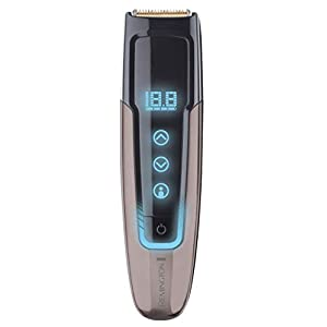 Remington TouchTech Beard Trimmer for Men with 0.1mm Precision Positioning, USB Charging and Travel Pouch - MB4700