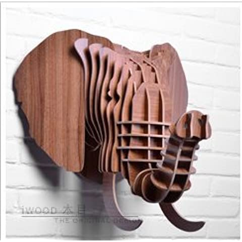 Decorazione di Natale Nordico elefante creativo hangings della parete in