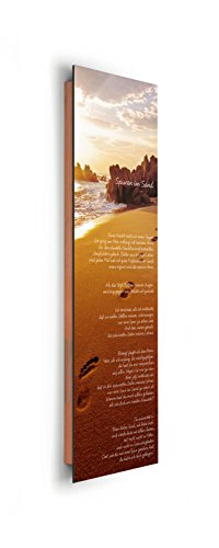 REINDERS Spuren im Sand - Wandbild 30 x 90 cm