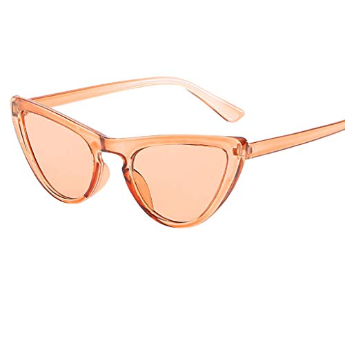 WUDUBE Polarisierte Sonnenbrille für Männer und Frauen, Katzenaugen mit persönlicher Ausrichtung, einfarbige Kunststoffbrillen