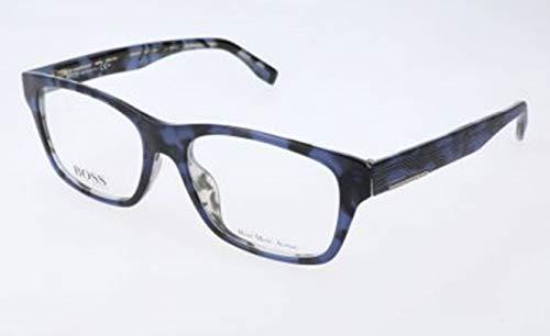Hugo boss hugo orange sonnenbrille bo-0212-s-fag-g4-56-15-140 occhiali da sole, nero (schwarz), 55.0 uomo
