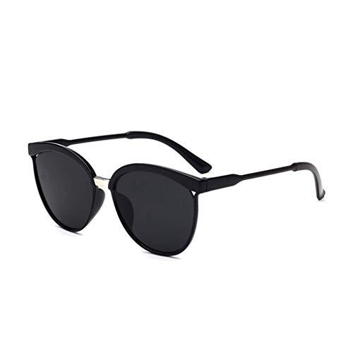 EUCoo Modische Sonnenbrille, AusgehöHlte Big Box-Sonnenbrille, Reflektierende Uv-Schutzbrille(F)