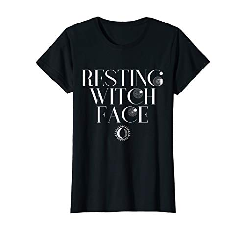 Klassische Schwarze Hexe Kostüm - Halloween Lustige Hexe Frauen Kostüm Ruhende