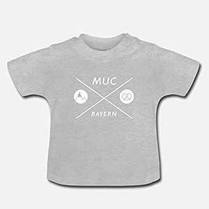 Baby T-Shirt >München Kreuz< / Unisex, schwarz, München, Bayern, Ostern, Easter, Geburt, Geschenk, Geburtstag, Birthday…
