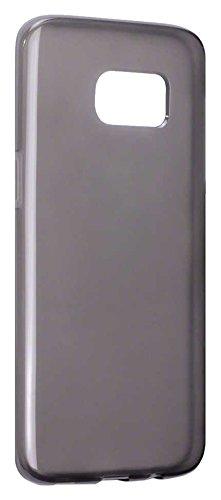 TERRAPIN TPU Gel Haut Schutzhülle für Samsung Galaxy S7Edge- Smoke Schwarz Smoke Tpu Gel