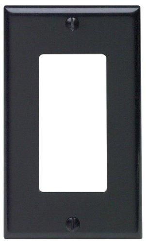 Leviton 80401-E Black Outlet Box-Outlet Boxes Leviton Media Box