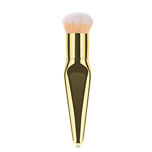 Kit De Pinceau Maquillage Professionnel1Pcs Plastique Pinceau De Maquillage CosméTique Brosses Fondation Poudre Pinceau Fard à PaupièRes Pinceau à LèVre avec Sac Nois