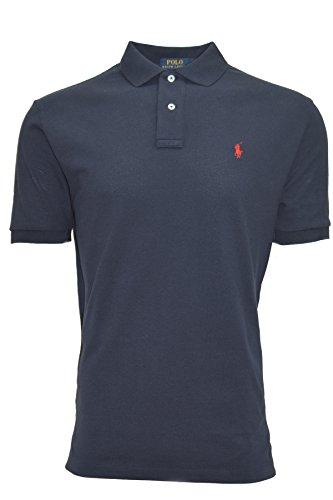 ralph-lauren-polo-shirt-mens-navy-blue-classic-fit-large-navy-blue
