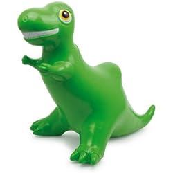 Dinosaurio saltarín (hinchable), juguete saltarín, animales saltarines de interior y exterior en verde Dinosaurios | para niños a partir de 2 años de edad, hechos de plástico ligero y resistente | Entrena la sensación de equilibrio, tamaño aprox. 73 x 43 x 57 cm.