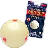 """Aramith Pro Cup Tv Ball 1 78"""" Uk Pool Ball 0"""